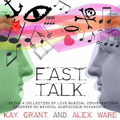 Fast Talk CD cover, illustration by Kate Charlesworth