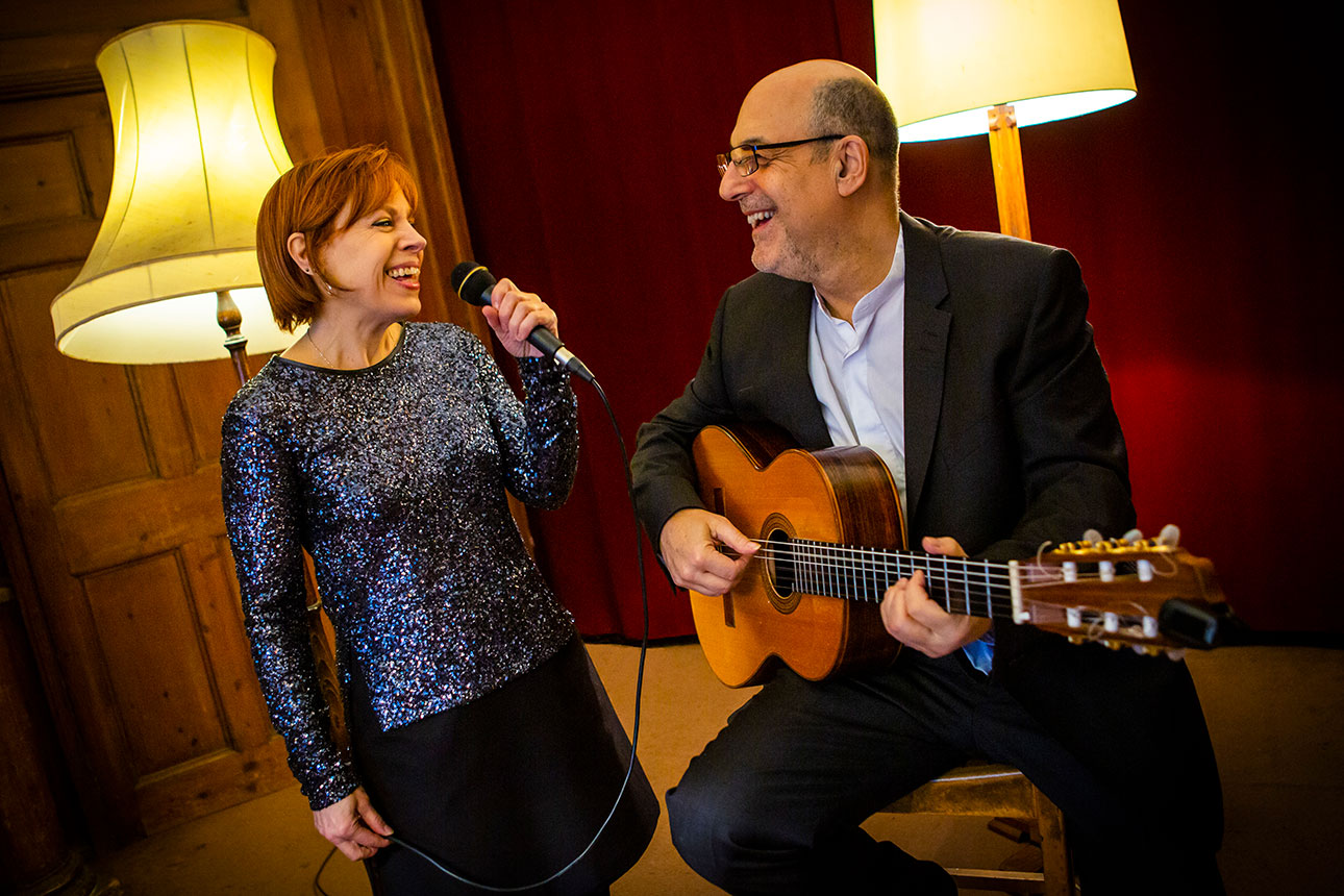 Kay Grant and Martin Vishnick
