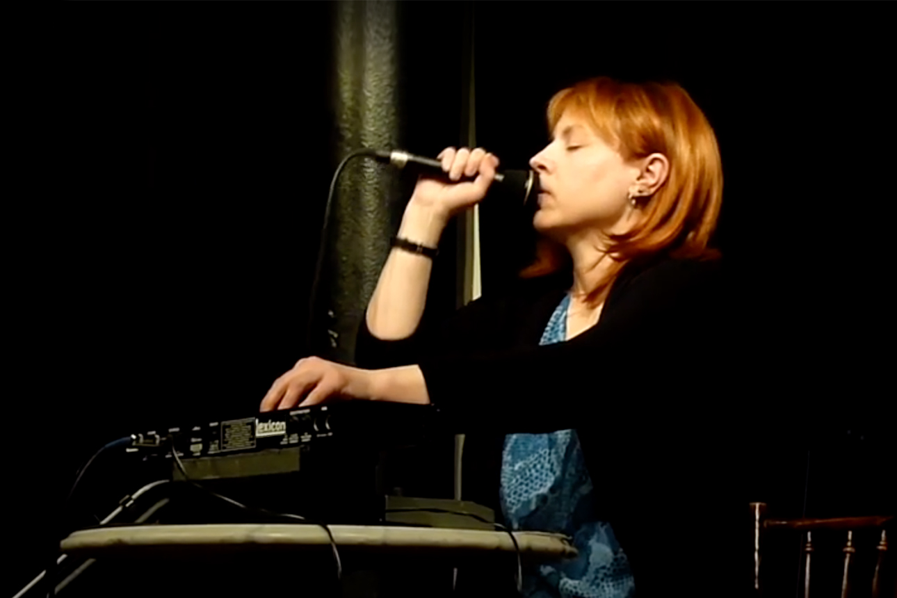 Kay Grant solo vocal electronics