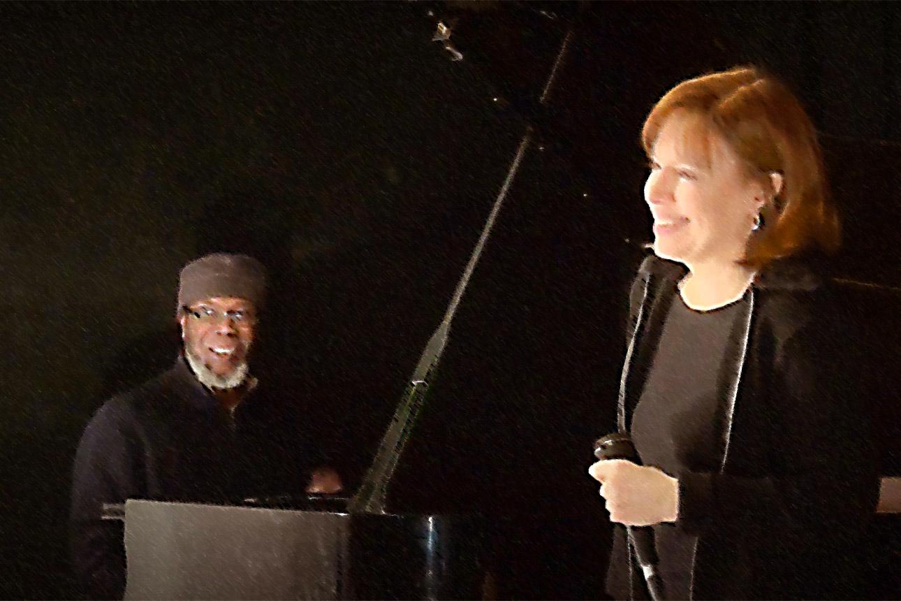 Kay Grant and Pat Thomas
